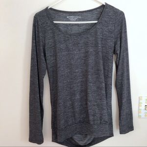 Beyond Yoga Double Face Cowl Back Top